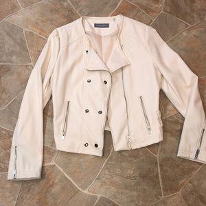 New faux leather biker jacket